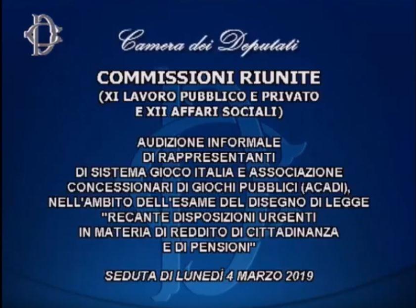 Logo commissioni riunite camera deputati 4 marzo 2019 for Logo camera deputati